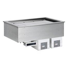 Výdejní vana chladicí drop-in GN 4-1/1 SL BLUE+ 4 RM GASTRO