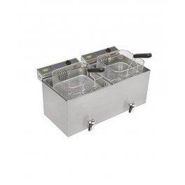 Fritéza stolní elektrická MF 120 DR - objem 2 x 12 l