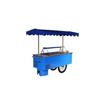 Distributor zmrzliny Juka - Riksha K-1 RK7 bez ohřevu vody - mobilní