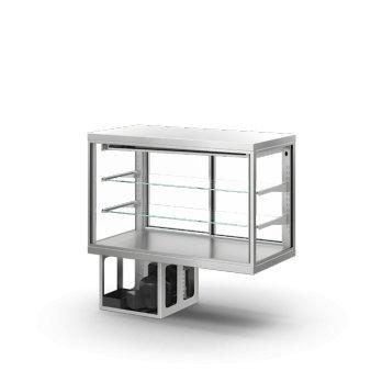 Chladící vitrína GENERUS GE104513FS obslužná 1000 x 450 x 1300 mm