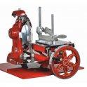 Nářezový stroj mechanický Retro Flywheel CE 300/L červený, prosciutto crudo
