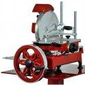 Nářezový stroj mechanický Retro Flywheel CE 300/10H červený, prosciutto crudo
