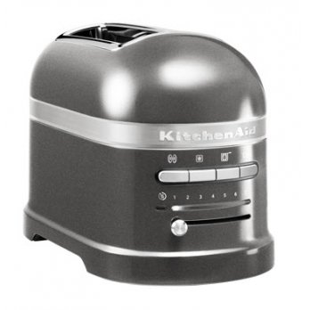 KitchenAid Toustovač Artisan 5KMT2204EMS stříbřitě šedá