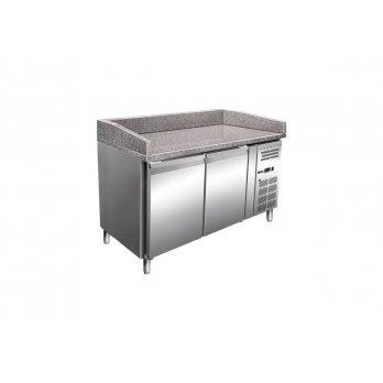 Stůl chladicí pizza MTP 2D, 2x dveře