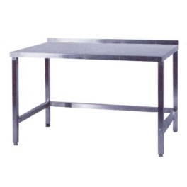 Pracovní stůl nerezový nad lednice, rozměr (d x š): 1000 x 600 x 900 mm