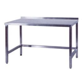 Pracovní stůl nerezový nad lednice, rozměr (d x š): 1400 x 800 x 900 mm