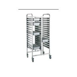 Regálový nerezový vozík RVJ-2x14GN