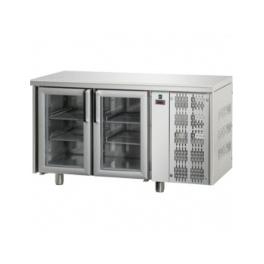 Chladící stůl s prosklenými dveřmi TF 03 MID PV